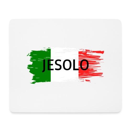 Jesolo auf Flagge - Mousepad (Querformat)