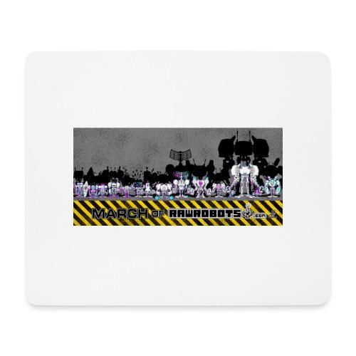 #MarchOfRobots ! LineUp Nr 2 - Mousepad (bredformat)