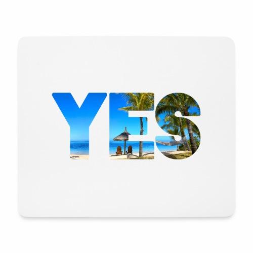 Karibik Urlaub - Mousepad (Querformat)
