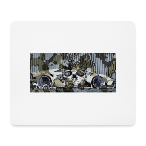 calavera style - Mouse Pad (horizontal)