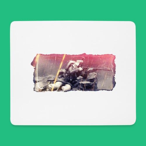 tireur couche - Tapis de souris (format paysage)