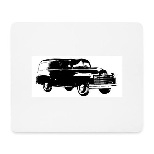 1947 chevy van - Mousepad (Querformat)
