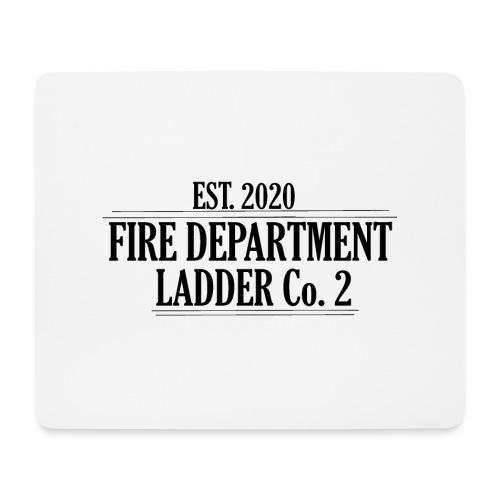 Fire Department - Ladder Co.2 - Mousepad (bredformat)