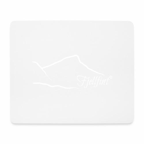 Hvit rektangulær logo - Musematte (liggende format)