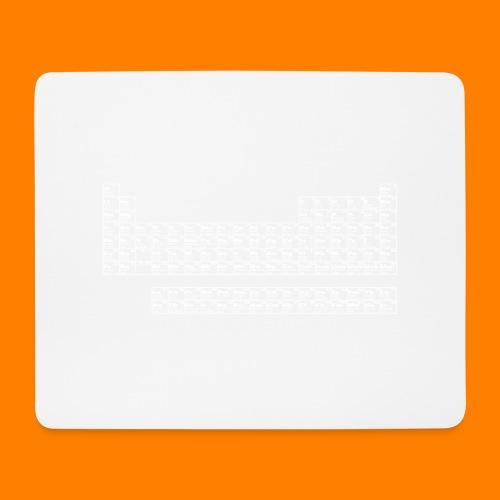 periodic white - Mouse Pad (horizontal)