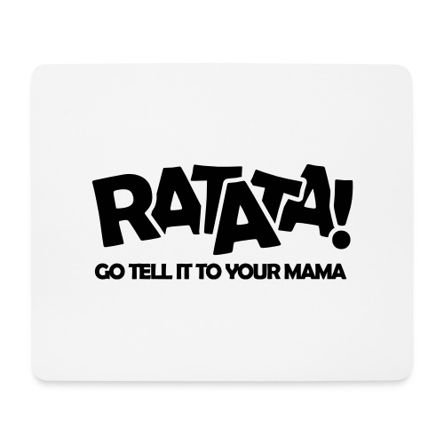 RATATA full - Mousepad (Querformat)