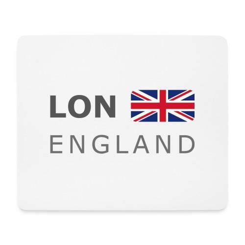 LON ENGLAND BF dark-lettered 400 dpi - Mouse Pad (horizontal)
