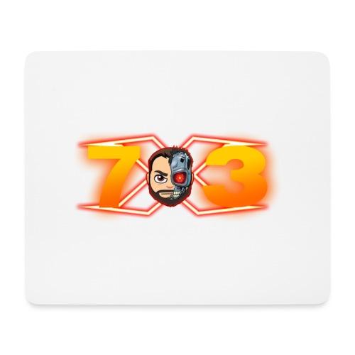 FranX73 logo NEW - Alfombrilla de ratón (horizontal)