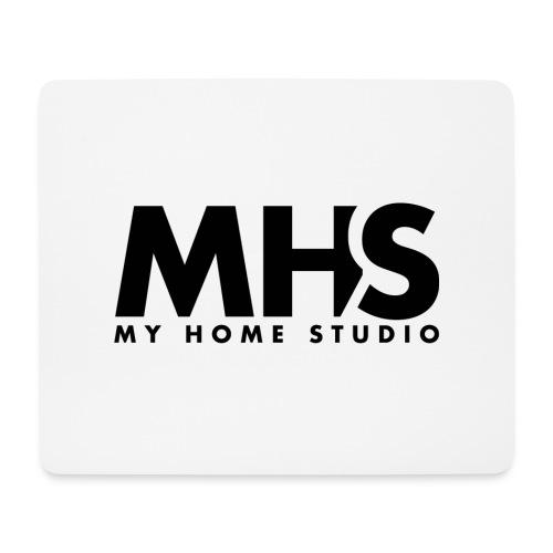 MY HOME STUDIO Black - Mouse Pad (horizontal)