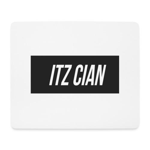 ITZ CIAN RECTANGLE - Mouse Pad (horizontal)