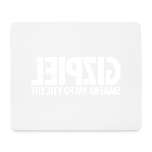 Leipzig (white oldstyle) - Mousepad (Querformat)