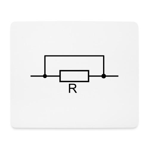 Widerstand ist zwecklos - Mousepad (Querformat)