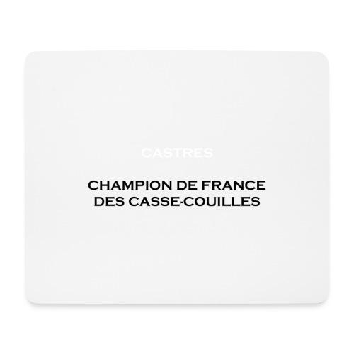 design castres - Tapis de souris (format paysage)