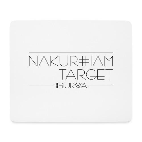 Nakur#iam Target - Podkładka pod myszkę (orientacja pozioma)