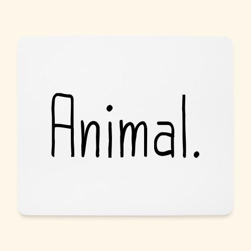 Tier Animal Tierliebe Tierschutz - Mousepad (Querformat)