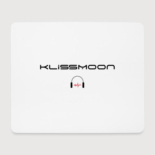 Klissmoon Logo black - Mouse Pad (horizontal)