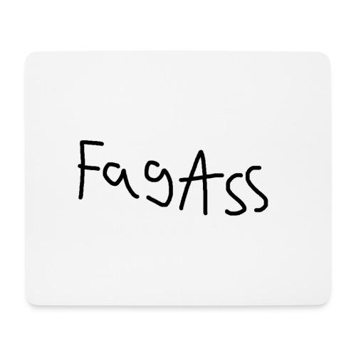 Fag Ass Logo #1 - Mousepad (bredformat)