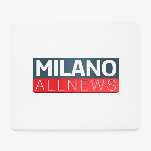 Milano AllNews Logo - Tappetino per mouse (orizzontale)