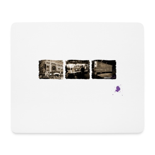 new york sepia ohne kontu - Mousepad (Querformat)