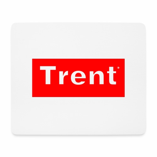 TRENT classic red block - Mouse Pad (horizontal)