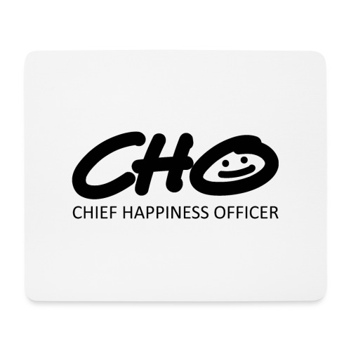 Chief Happiness Officer - Mousepad (Querformat)