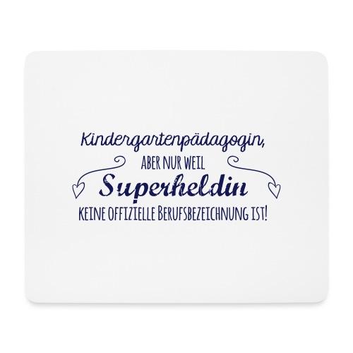 Stoffbeutel: Kindergartenpädagogin - Mousepad (Querformat)