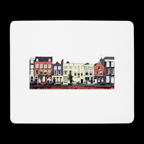 Pretty Dutch town houses - Mouse Pad (horizontal)