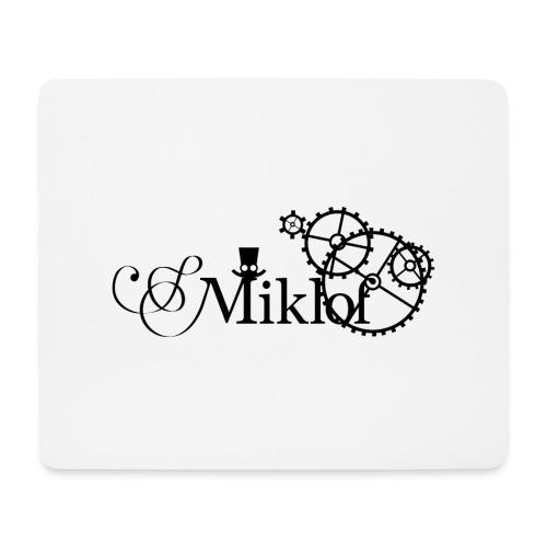 miklof logo black 3000px - Mouse Pad (horizontal)
