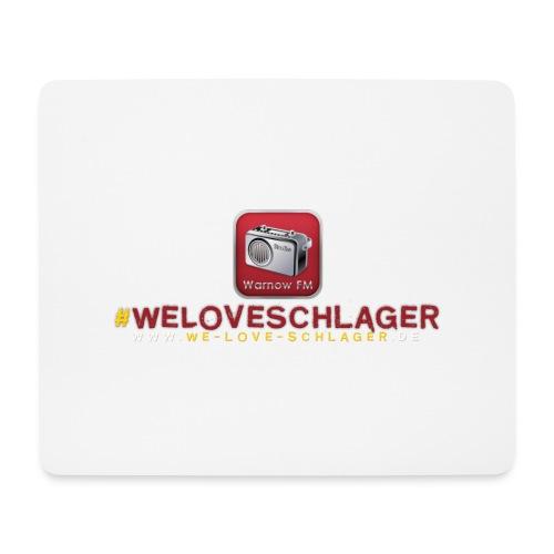 WeLoveSchlager de - Mousepad (Querformat)