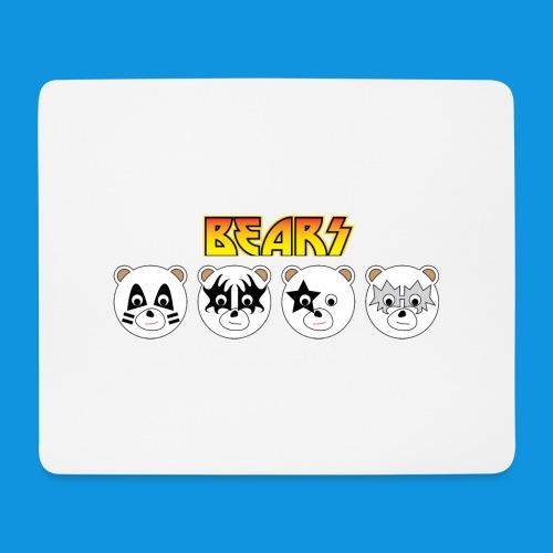 Kiss Bears.png - Mouse Pad (horizontal)