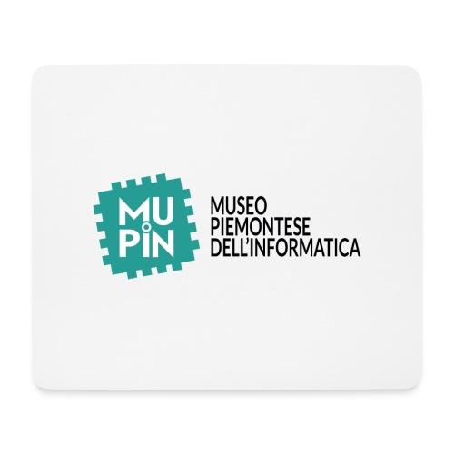 Logo Mupin con scritta - Tappetino per mouse (orizzontale)