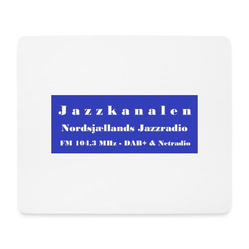 Nordsjællands Jazzradio - Mousepad (bredformat)