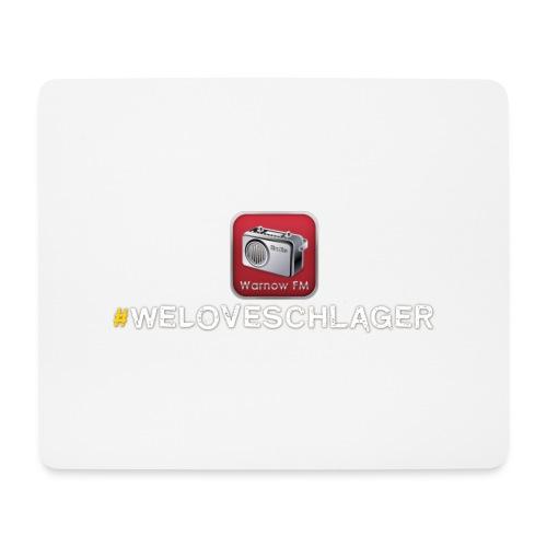 WeLoveSchlager 1 - Mousepad (Querformat)