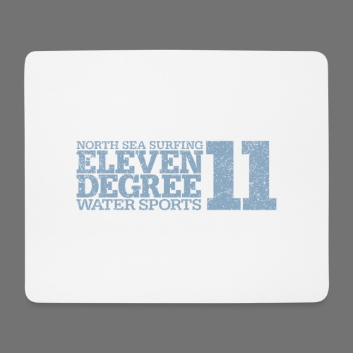 eleven degree light blue (oldstyle) - Mouse Pad (horizontal)