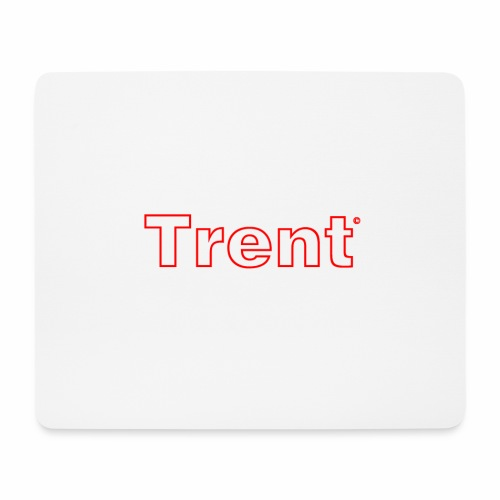 TRENT classic red - Mouse Pad (horizontal)