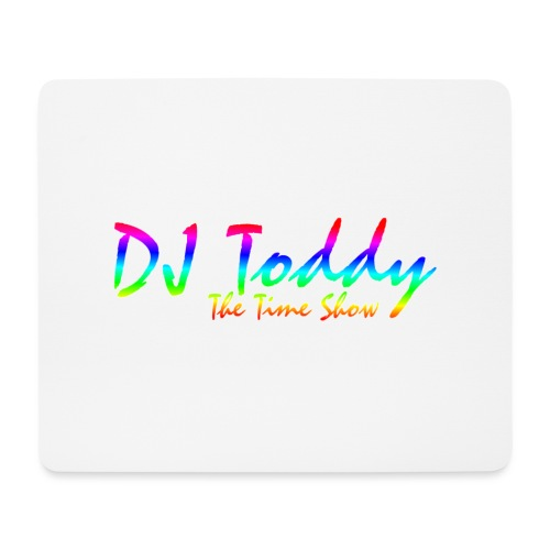 DJ Toddy The Time Show - Mousepad (Querformat)