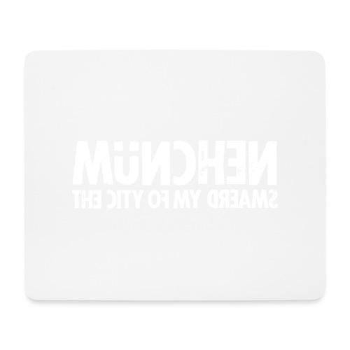 München (white oldstyle) - Mousepad (Querformat)