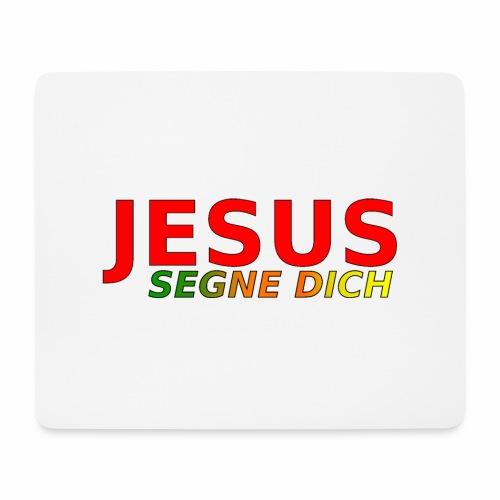JESUS segne dich - bunt - Mousepad (Querformat)