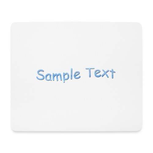 SAMPLE TEXT - Mouse Pad (horizontal)