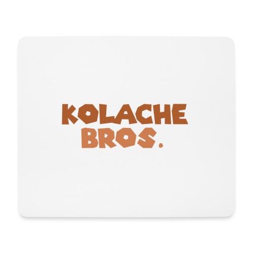 Kolache Bros. Logo Cap - Mousepad (Querformat)