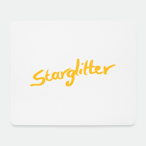 Starglitter - Lettering - Mouse Pad (horizontal)