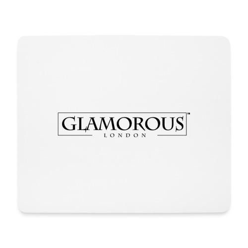 Glamorous London LOGO - Mouse Pad (horizontal)