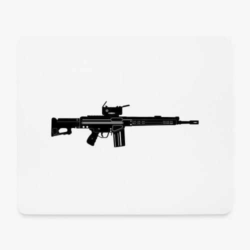 HK Gewehr 3 - Automatkarbin 4C - Musmatta (liggande format)