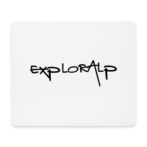 exploralp test oriz - Mouse Pad (horizontal)