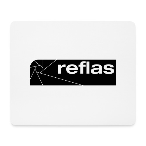 Reflas Clothing Black/Gray - Tappetino per mouse (orizzontale)