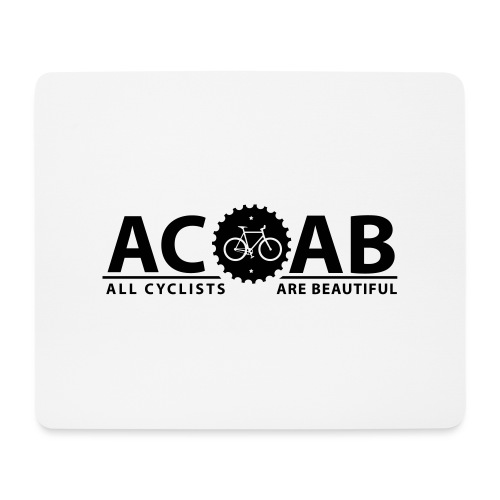 ACAB ALL CYCLISTS - Mousepad (Querformat)