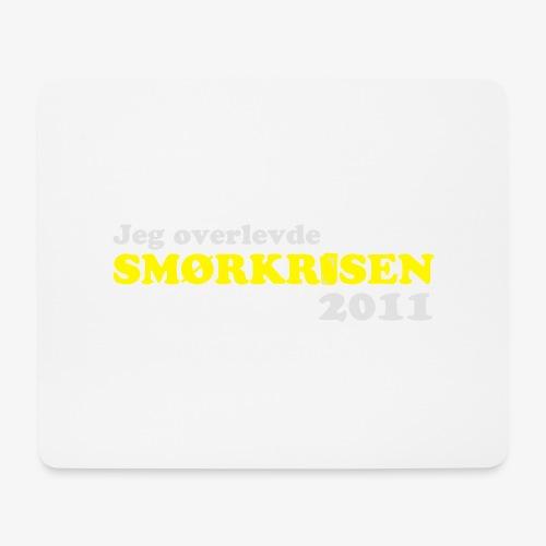 Smørkrise 2011 - Norsk - Musematte (liggende format)