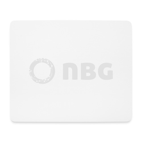 NBG Logo Icon - Mousepad (Querformat)