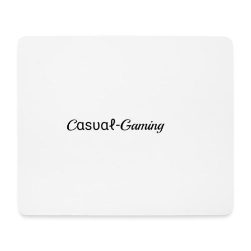 Casual-Gaming-Schriftzug - Mousepad (Querformat)