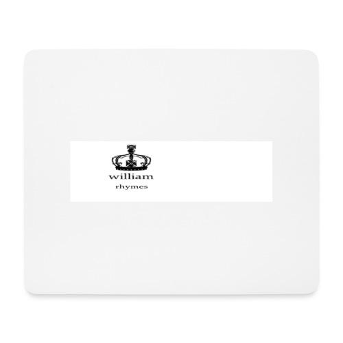 william - Mouse Pad (horizontal)